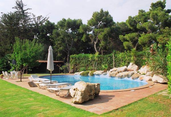 Exterior piscines